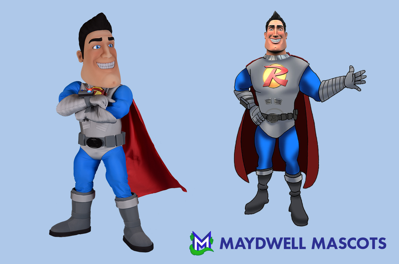 Superhero Reliant Man Air Conditioning