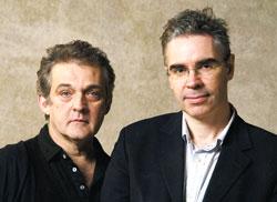 Mark Morris (left) and Simon Morrison Credit:Joanne Savio