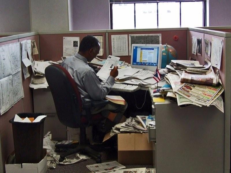 Messy Desk Needs DMS