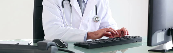 entering data into the EMR