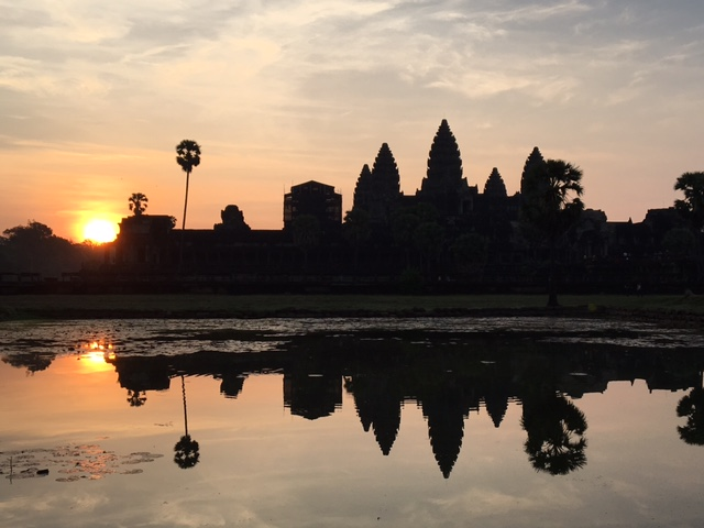 If sunrise at Angkor Wat is not currently on your bucket list, please get out your # 2 pencil and add the world's largest religious structure to your list.