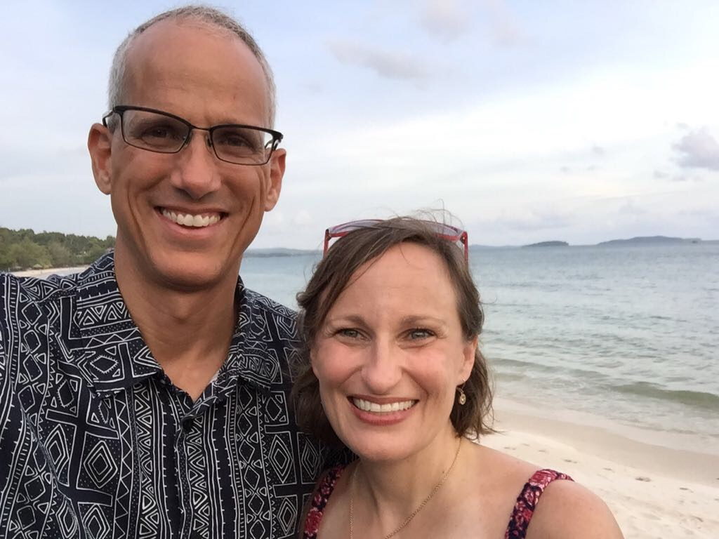 School ended a week ago, and we took a long weekend to lovely Sihanoukville, a Cambodian beach town on the Gulf of Thailand. Gorgeous spot, and a great getaway!