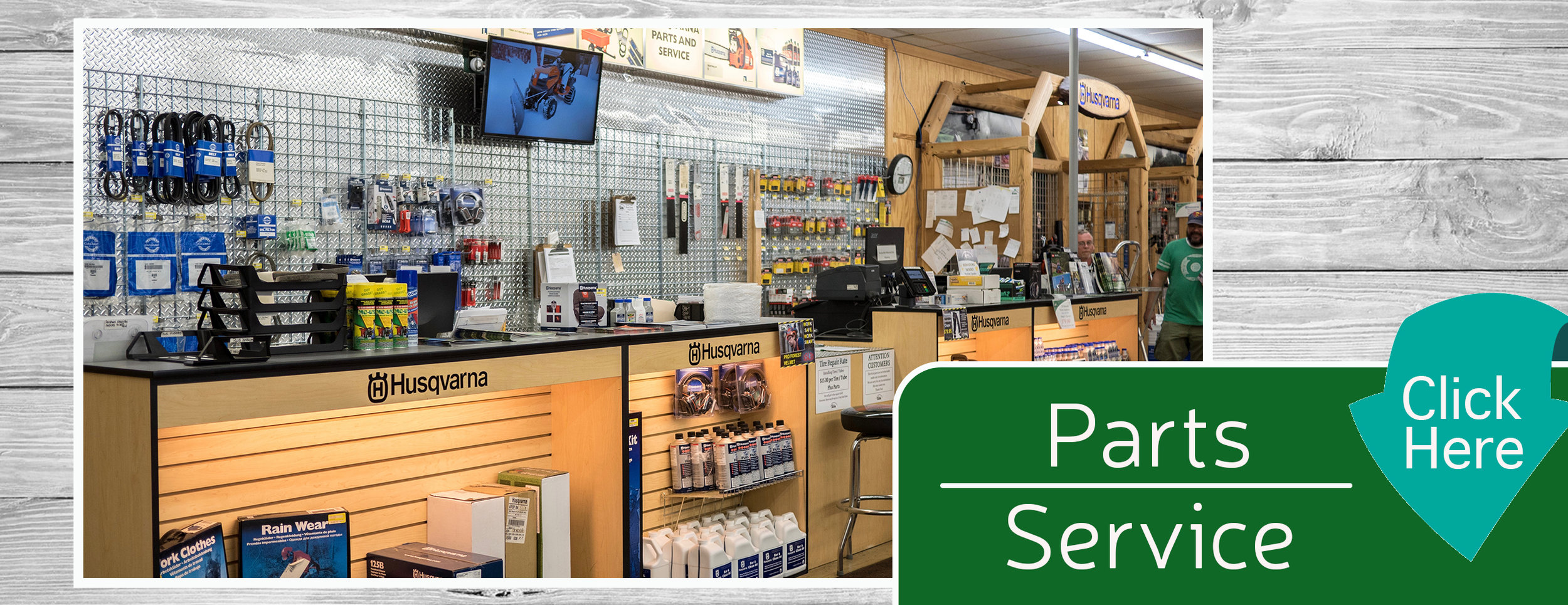 Parts & Service Home Page Banner