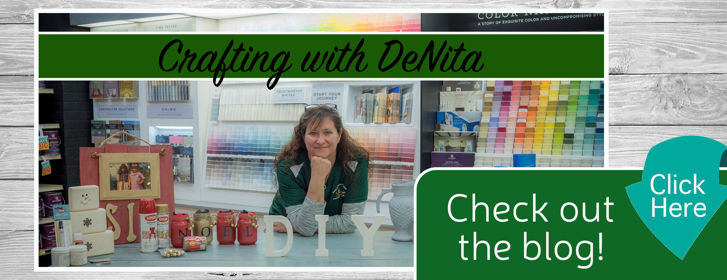 Crafting With DeNita Home Page Banner