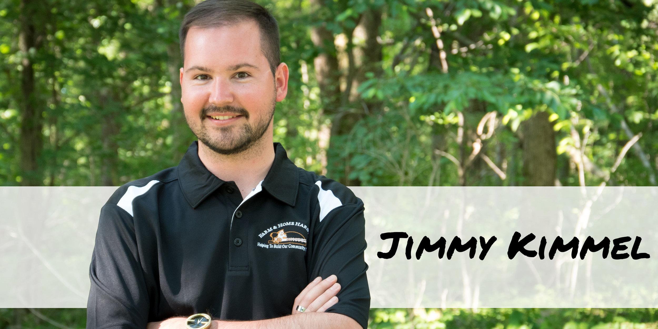 Sporting Goods team member Jimmy Kimmel of Farm & Home Hardware.