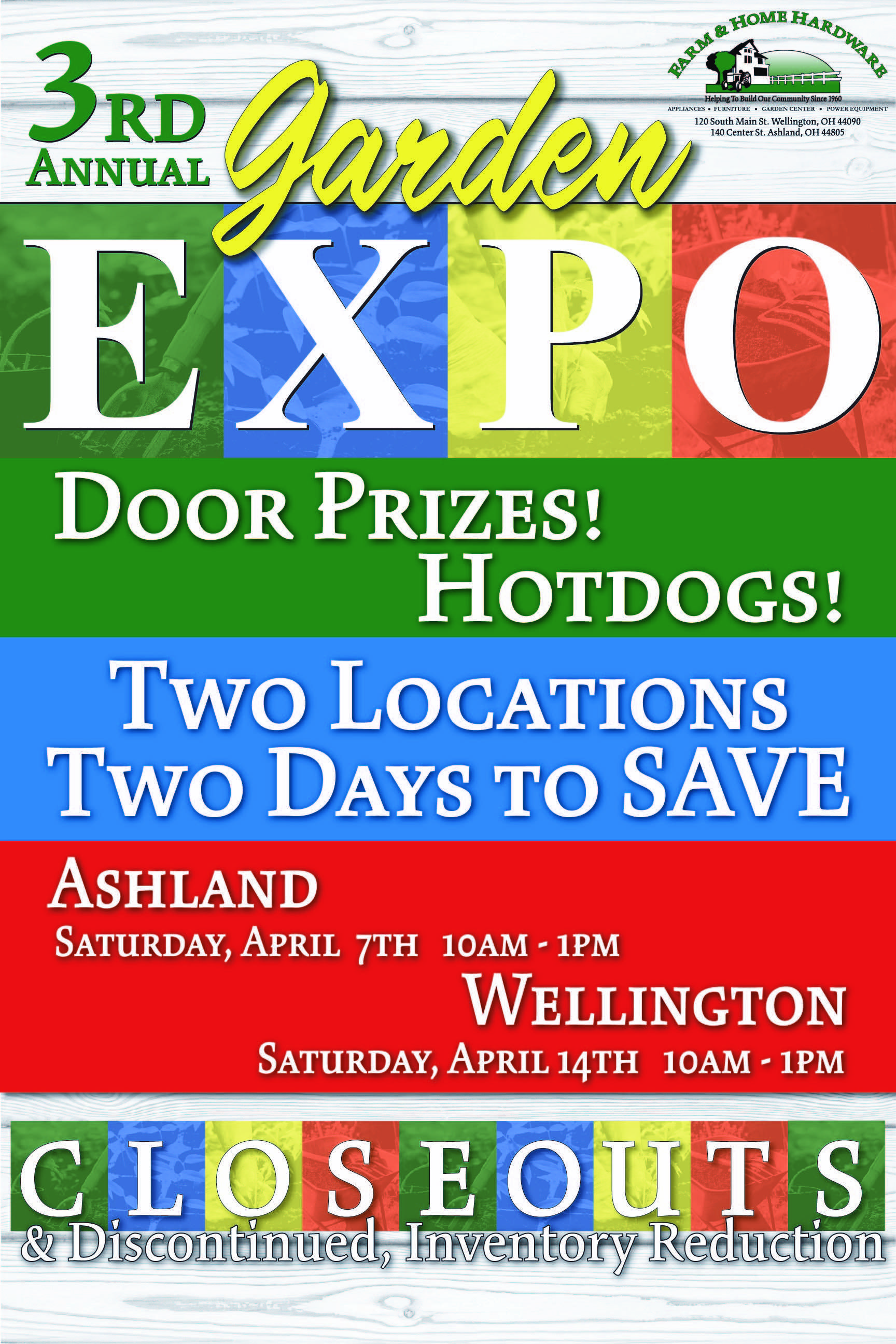 Farm & Home Hardware Annual EXPO Event Ashland