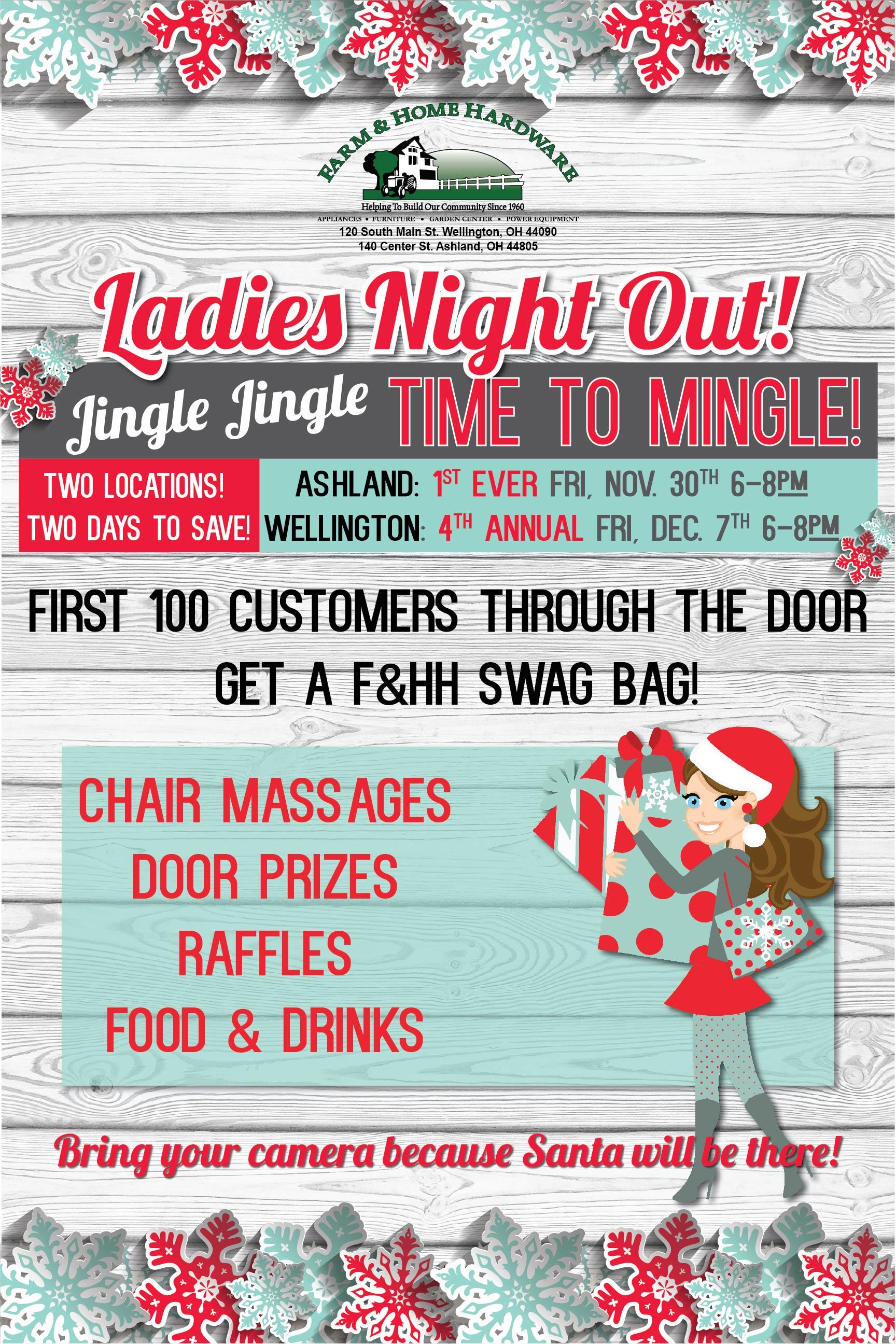Farm & Home Hardware Ladies Night Out 2018
