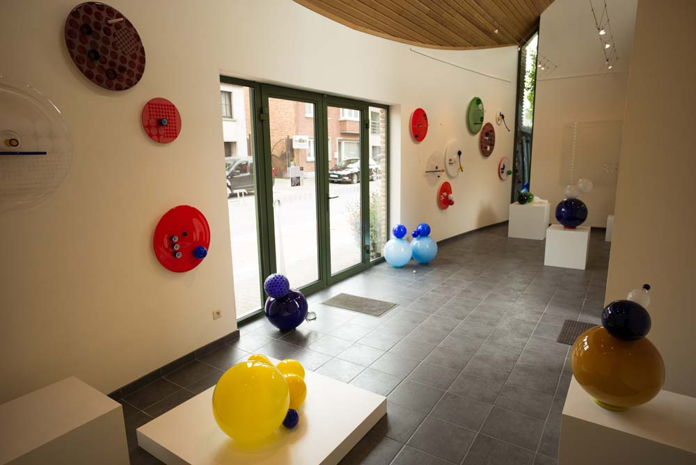Het glazen kabinet - Galerij Pi Kwadraat - Erpe - 2014