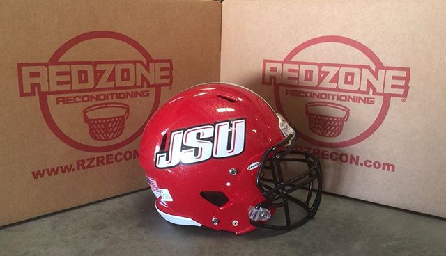 Shipped out the BLACK NOCSAE RECERTIFIED face masks for the @JSUequipment today. As always, thanks for allowing us the opportunity to help keep the players safe and looking great! #Gamecocks