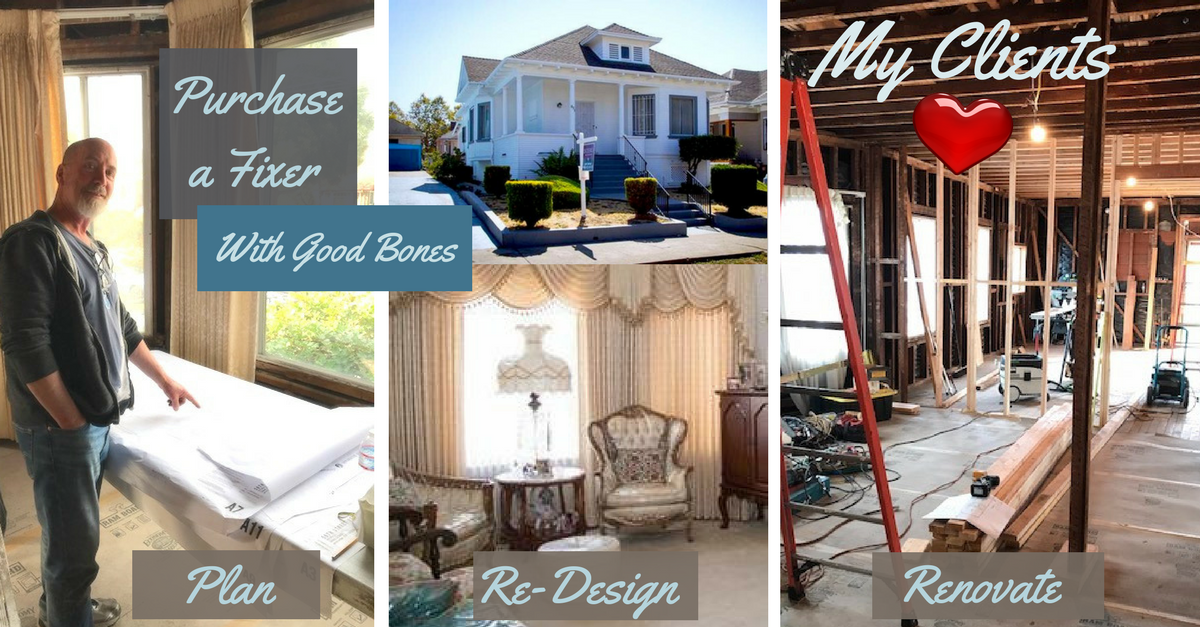 Bill's Home Renovation - MY CLIENT!