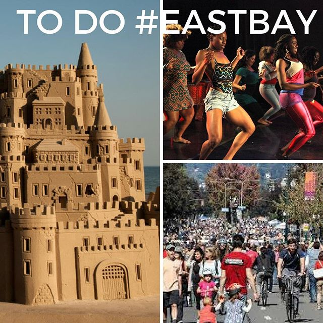 3 GREAT FREE Things to Do in the #EastBay this weekend!! #eastbaylife⠀ ⠀ 2018 Sunday Streets Berkeley