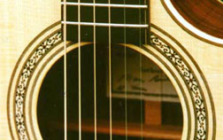 Most of my guitars built between the late 70's and the early 90's had this type of soundhole design.