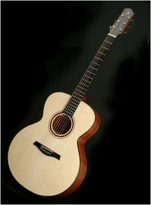 """Mini Jumbo - This guitar will appeal to those who love the bold, rounded look of the Jumbo but want it in a standard full sized instrument. Like the Concert Standard, this model is a good choice if you need a guitar that does everything well.DimensionsUpper Bout: 11 1/2"""" (29.3cm)Waist: 9 1/4"""" (23.5cm)Lower Bout: 16"""
