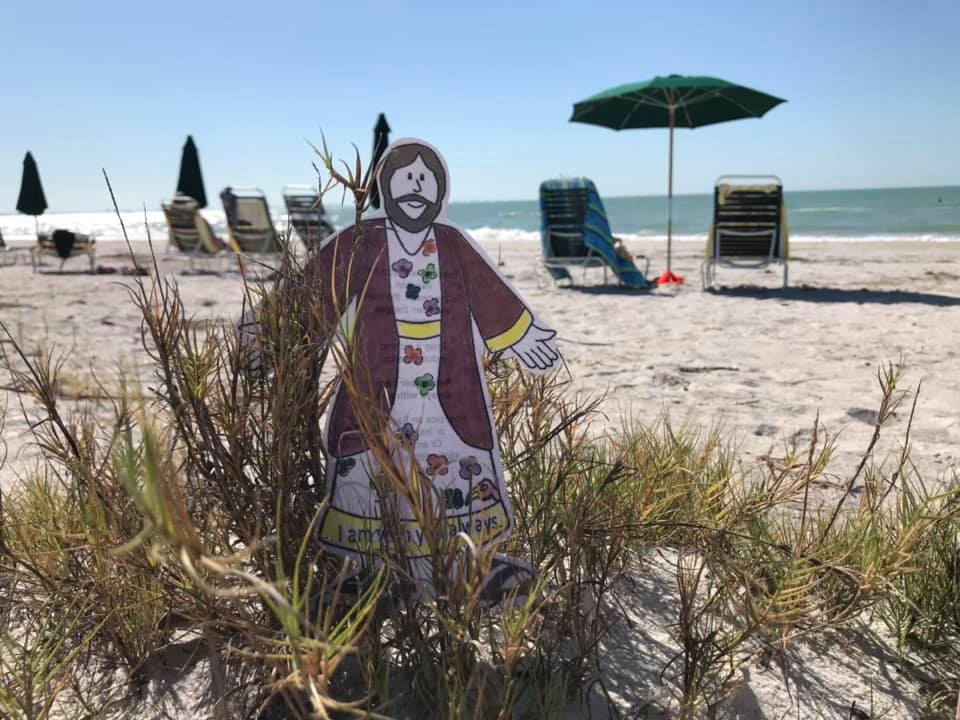 On Sanibel Island at the Gulf of Mexico