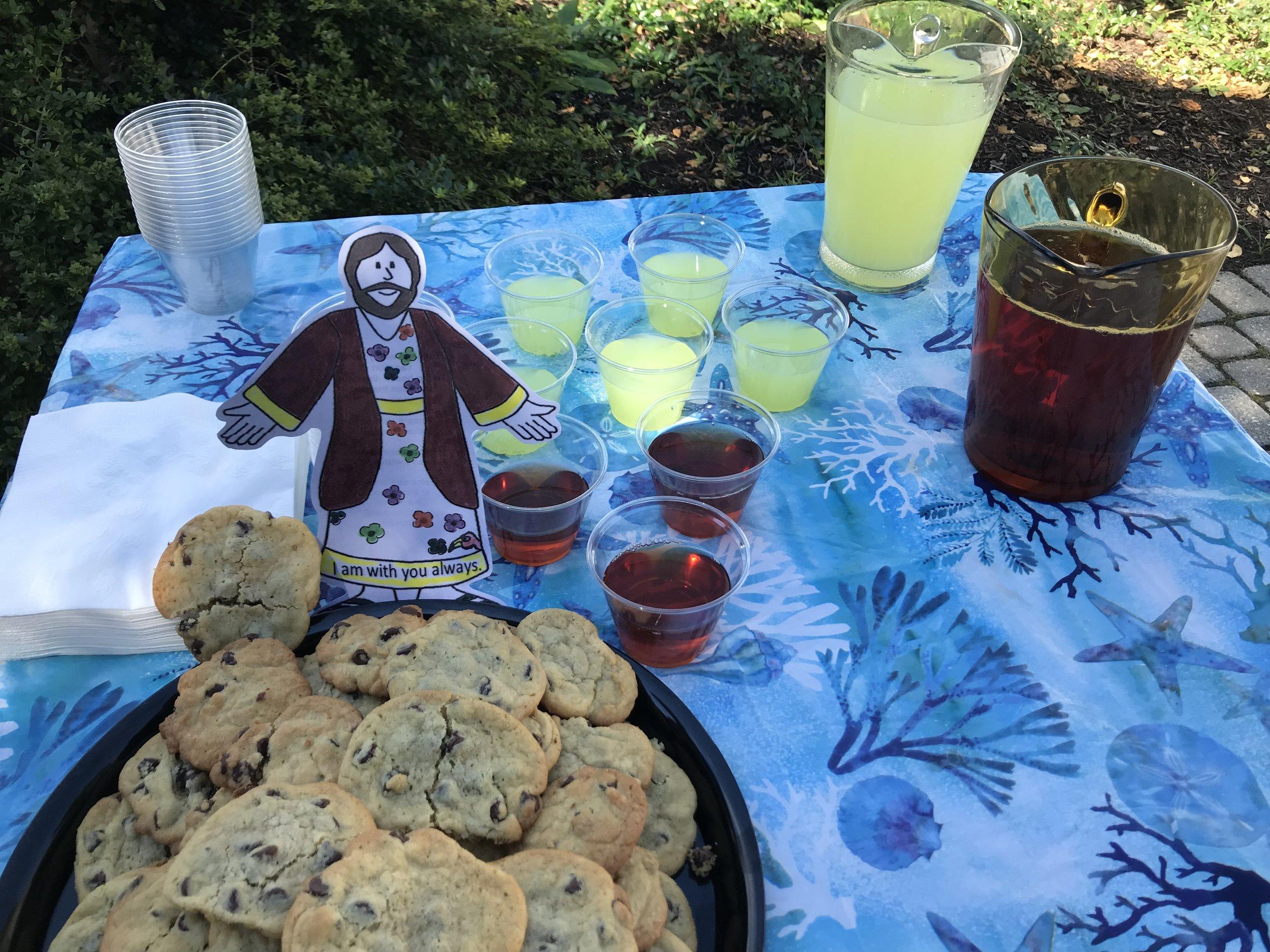 Sunday hospitality at St. John's