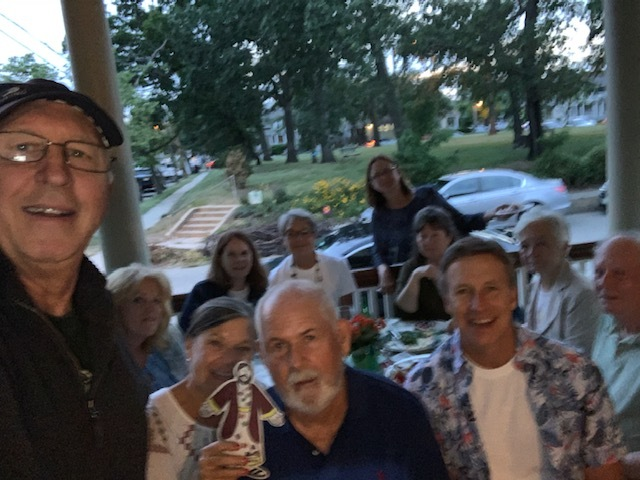 Joining the choir barbecue