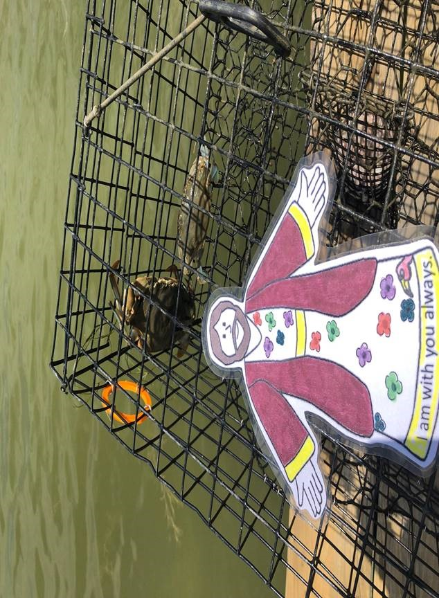 Crabbing in Bozman, MD