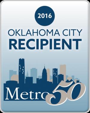 2016 Metro 50 Recipient