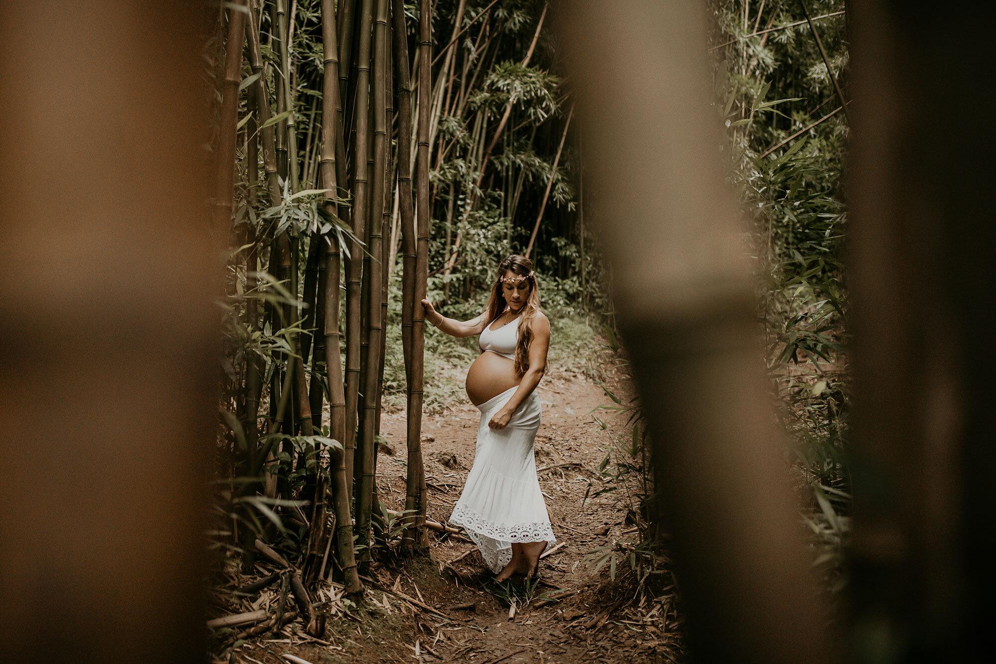 Oahu Hawaii Maternity Photographer Waterfall Maternity The Sophia Co 15.jpg