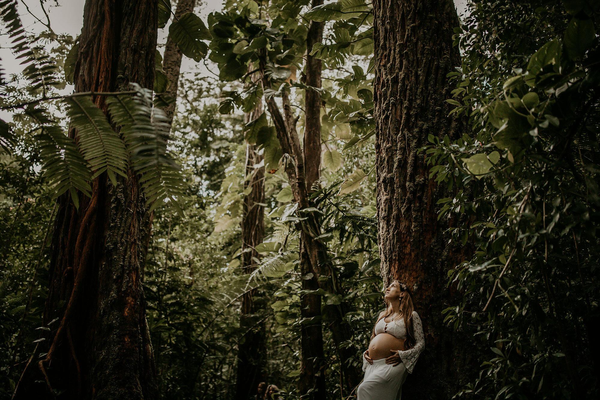Oahu Hawaii Maternity Photographer Waterfall Maternity The Sophia Co 24.jpg
