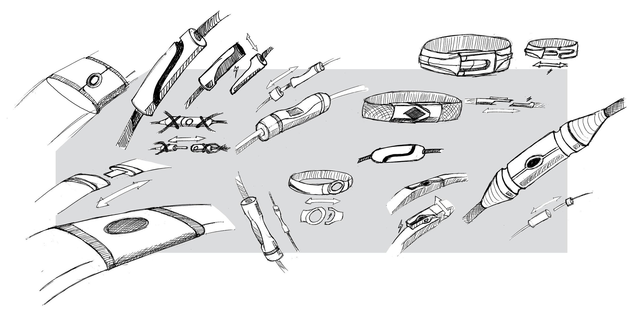 Concept Sketches - Keith Costa
