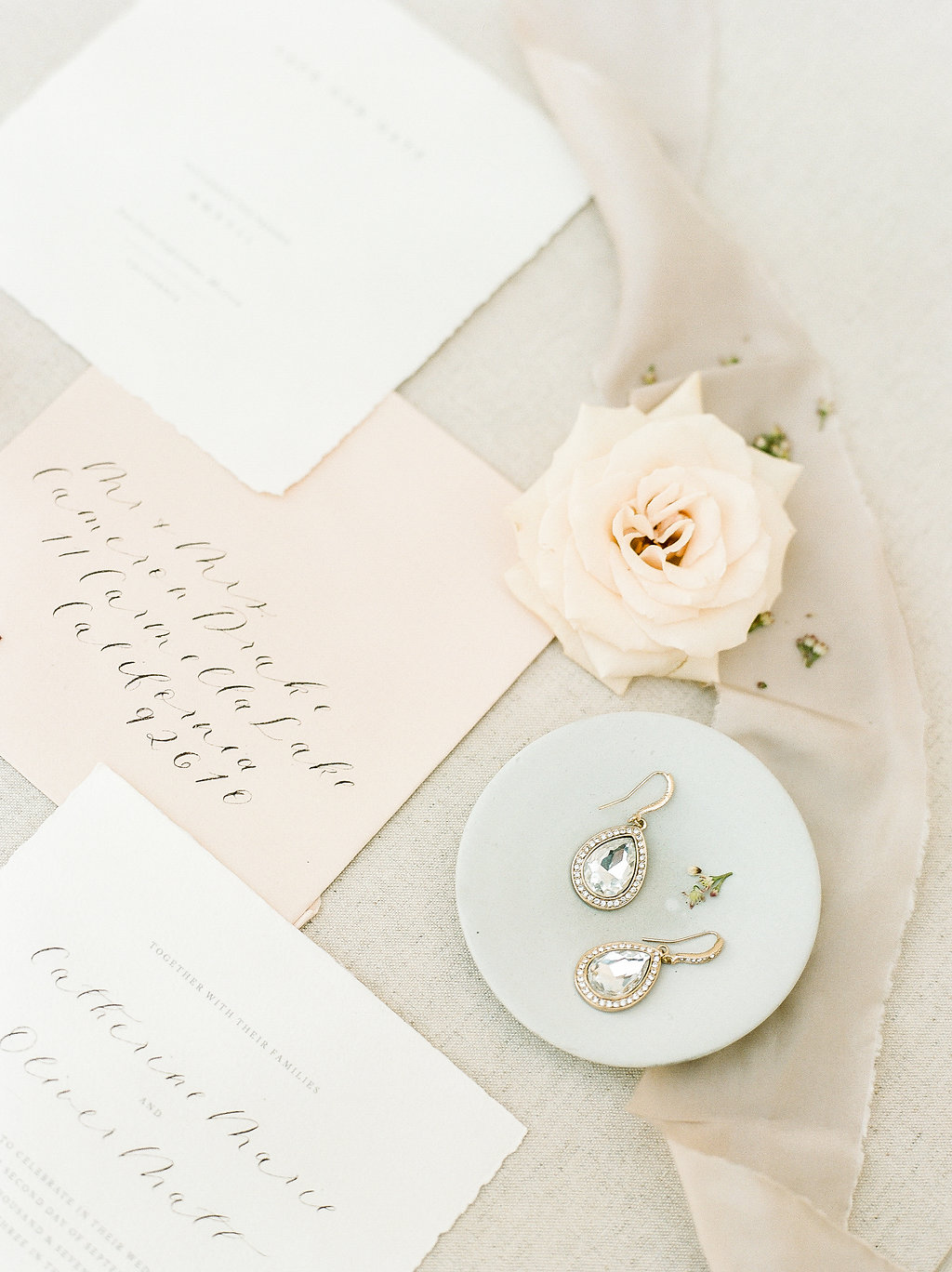 Spanish Mission Style Wedding Ideas Bridal Accessories Summer Flowers Finding Flora Wedding Sparrow Fine Art Flourish Calligraphy Invites Stationery San Juan Capistrano