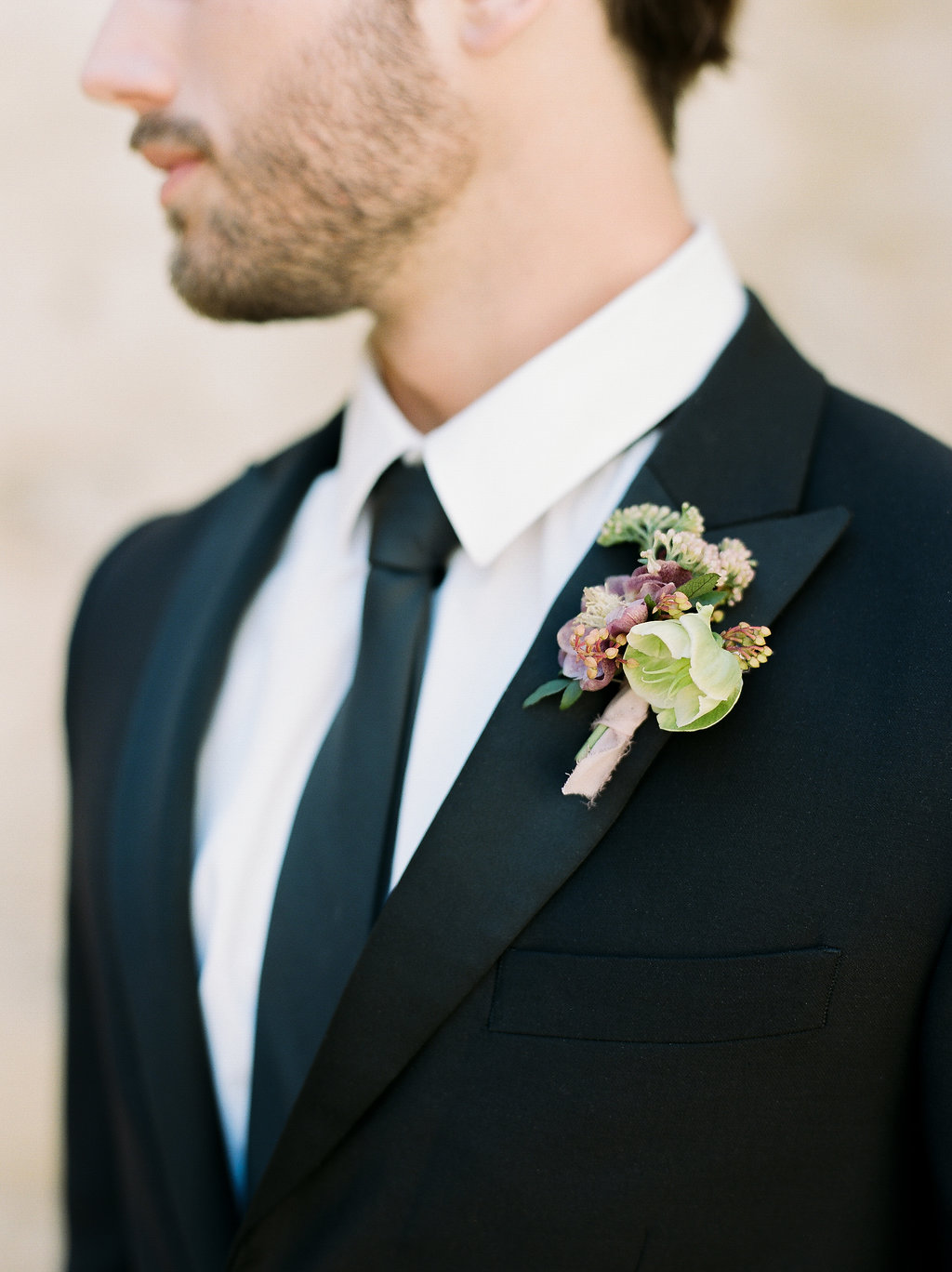 Spanish Mission Style Wedding Ideas Summer Flowers Finding Flora San Juan Capistrano European Venues California Groom Boutonniere