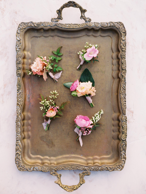 Boutonnieres Fine Art Finding Flora Wedding Florist