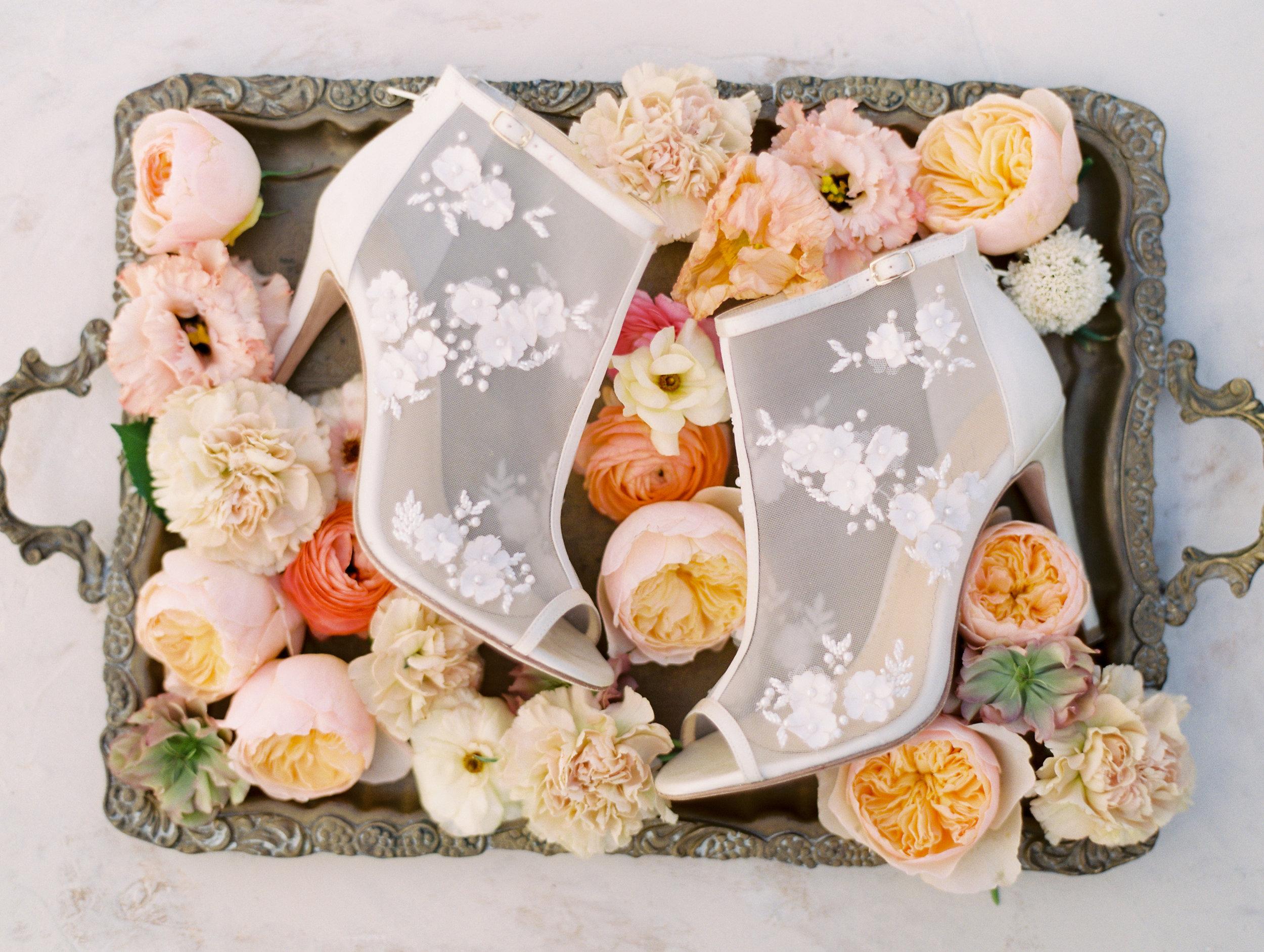Wedding Shoes Bride Flowers Finding Flora Fine Art Utah California