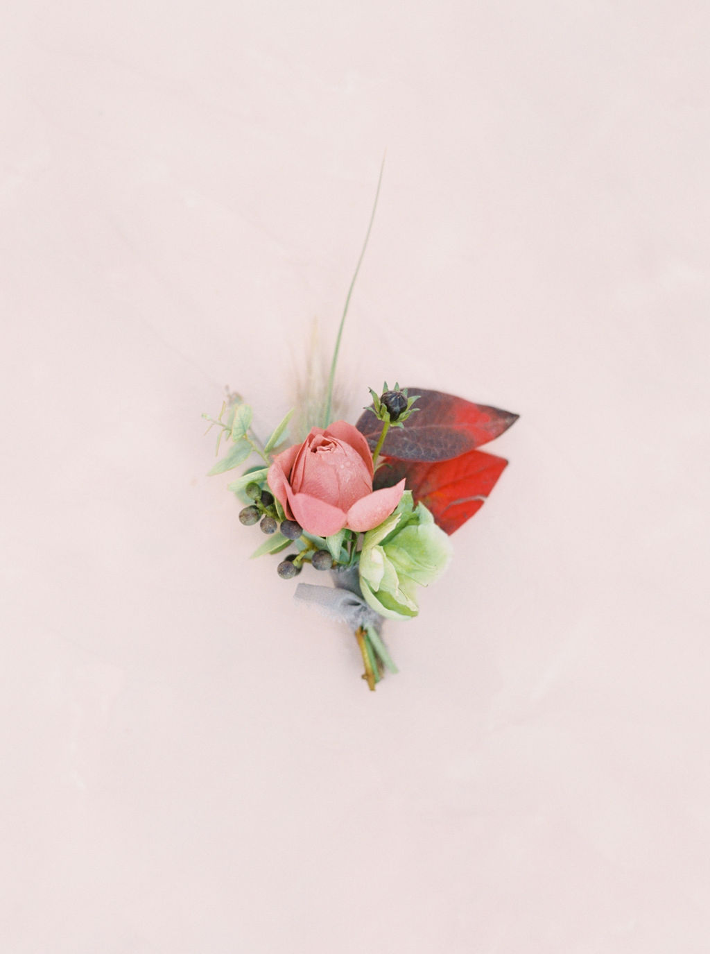 Autumn Boutonniere by Finding Flora