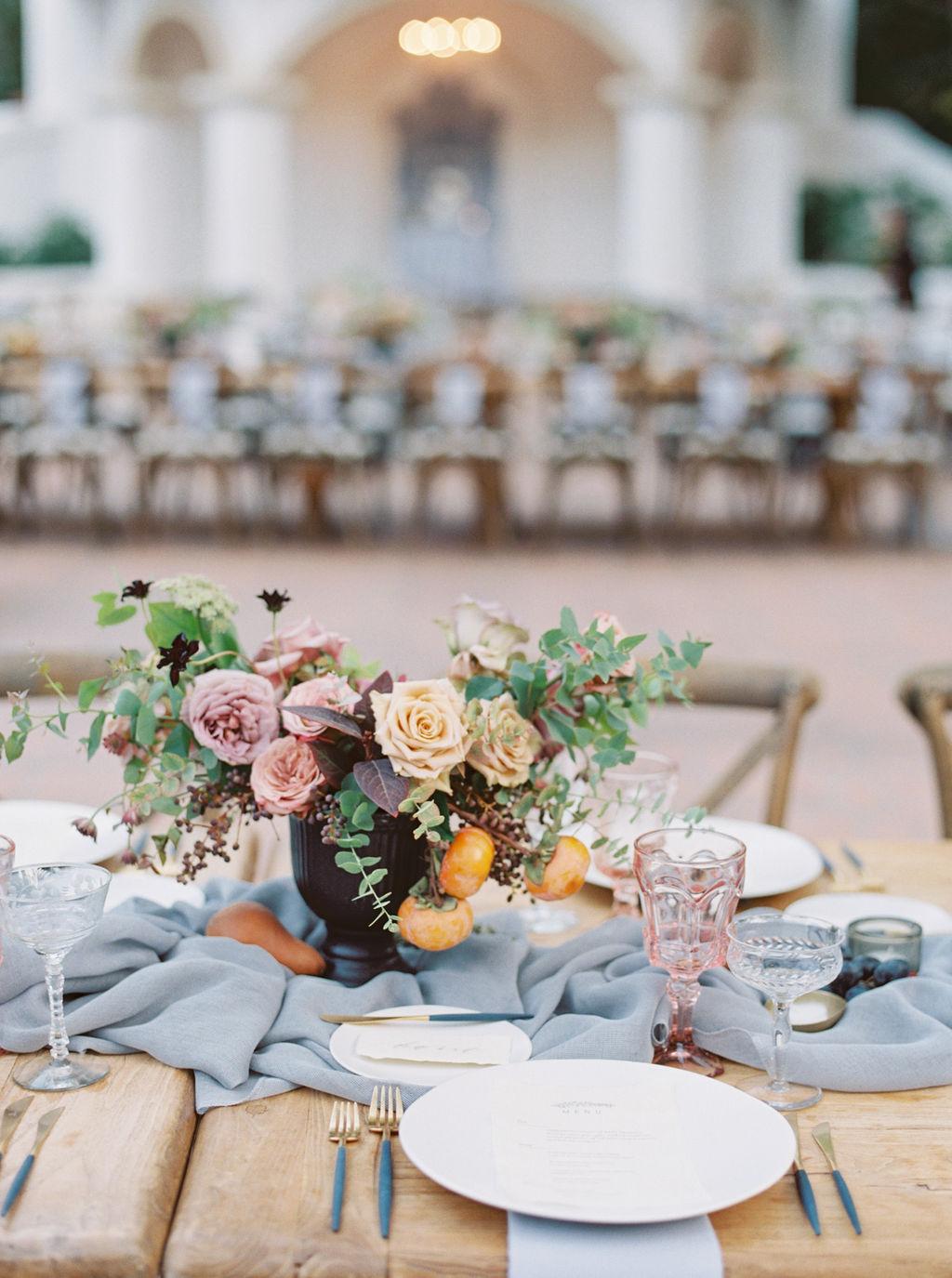 Autumn Wedding Flowers by Megan Wise