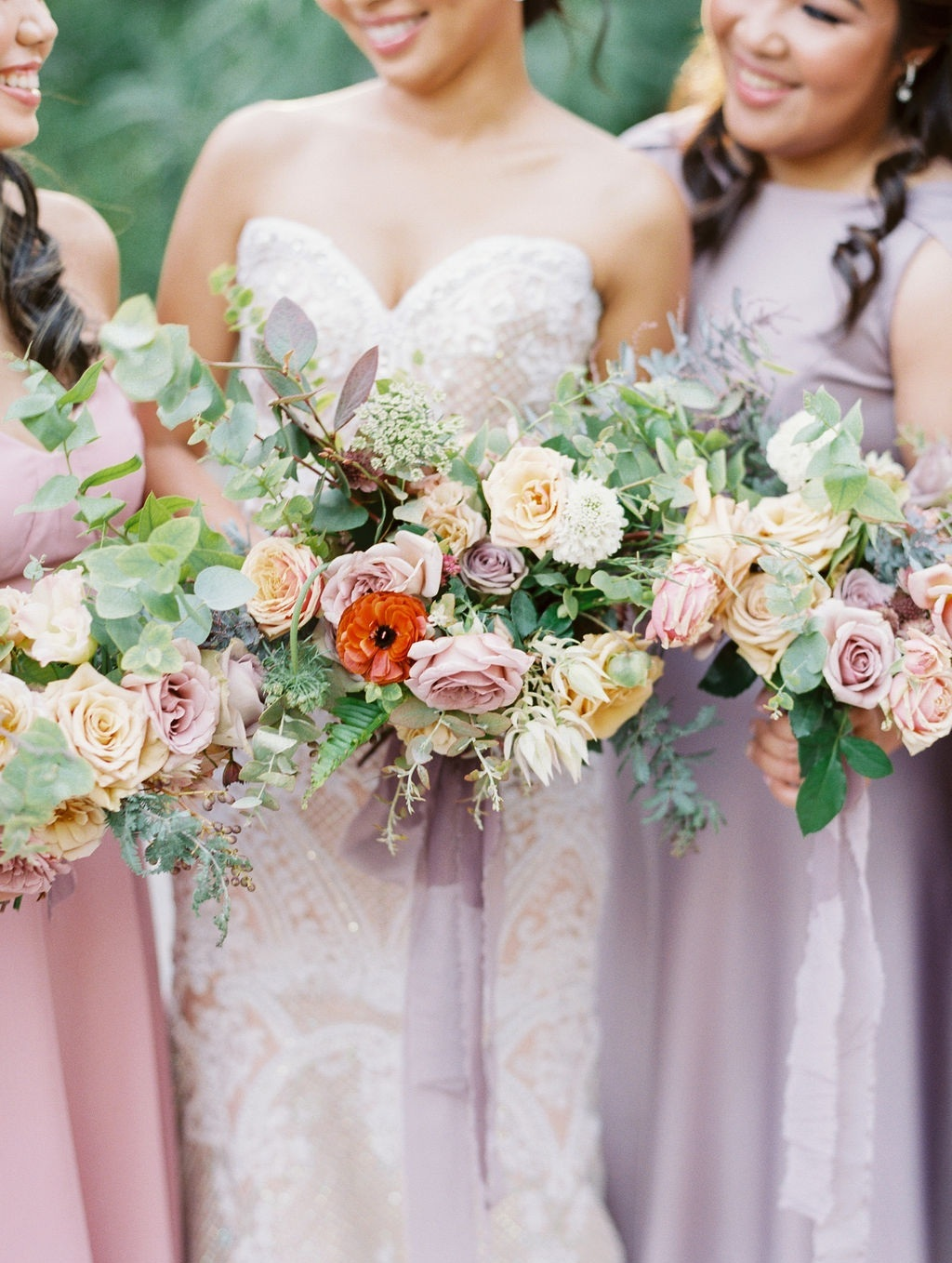STYLE ME PRETTY FEATURE - A lush, autumn wedding with stone fruit accents at Rancho Las Lomas, CaliforniaVIEW NOW