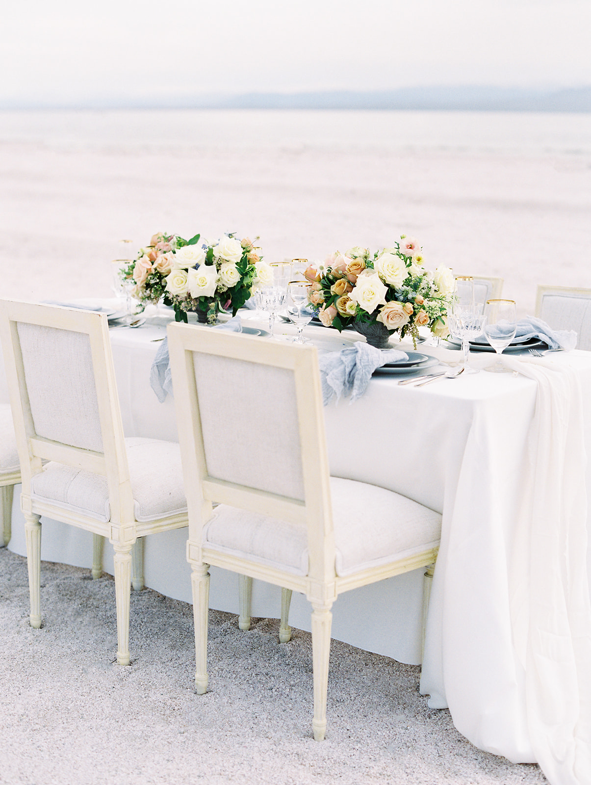 Ethereal Wedding Inspiration with Soft, Neutral Details