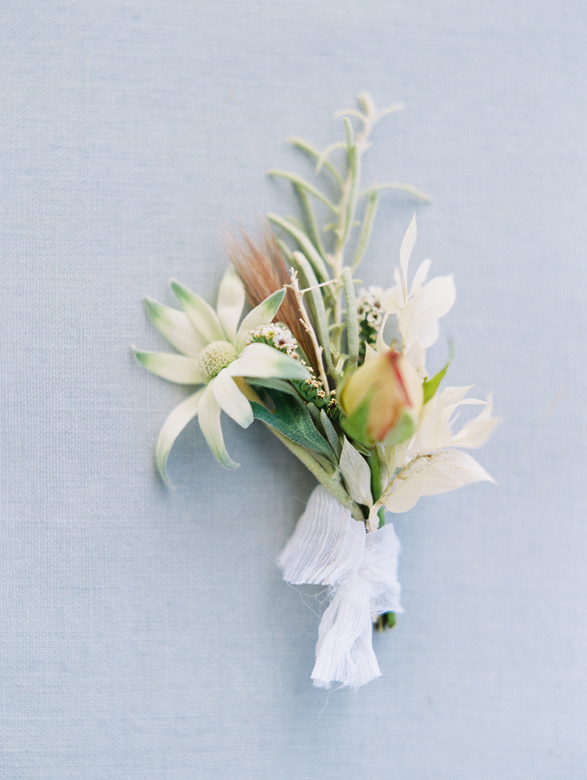 Modern Boutonniere by Finding Flora