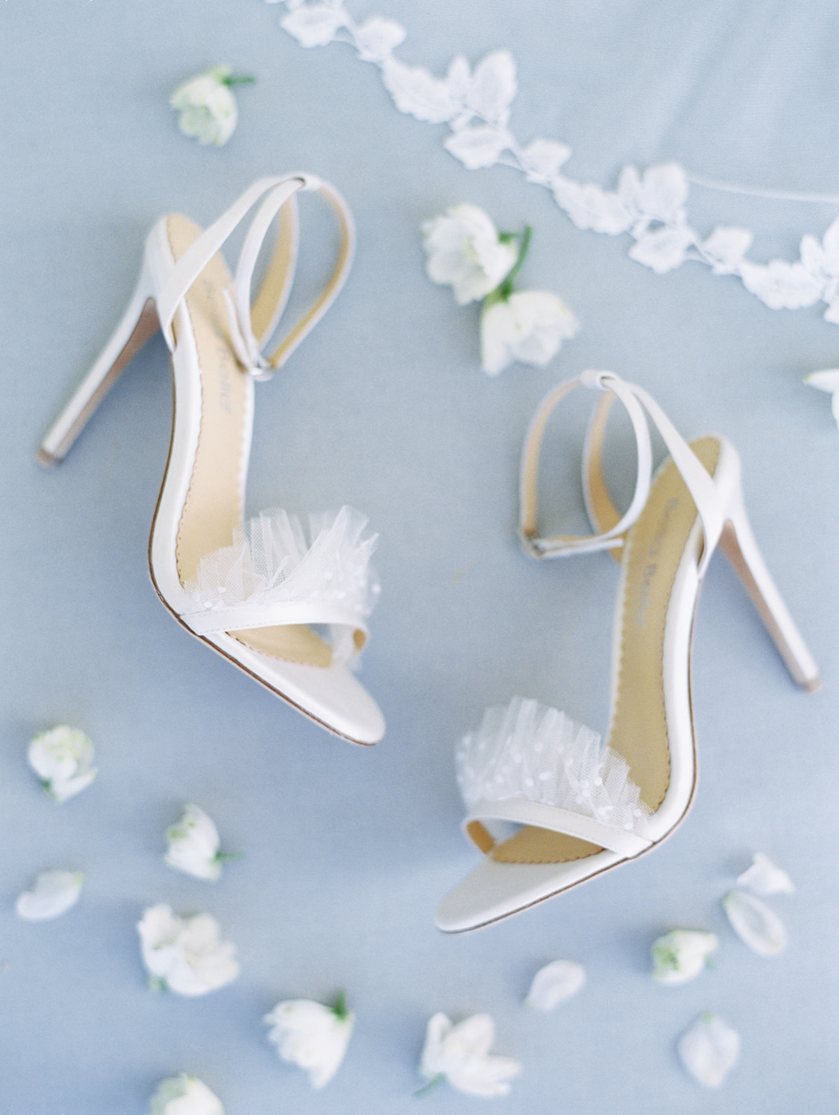 Bella Belle Shoes for this ethereal wedding inspiration