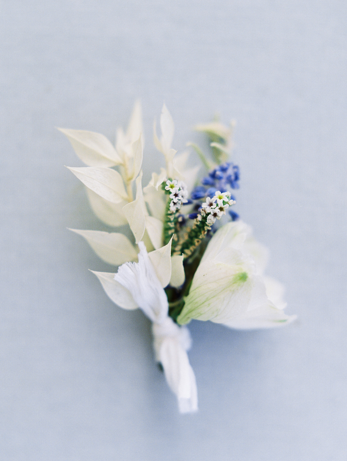 Modern Organic Boutonnieres by Finding Flora