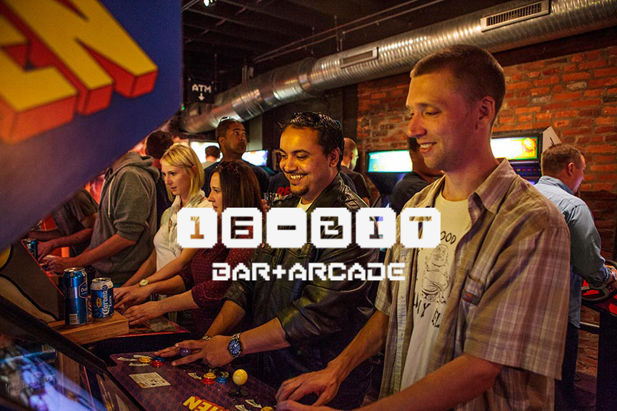 COMING SOON TO BRIDGE PARK - It's official. 16-Bit Bar + Arcade — your favorite retro watering hole and arcade heaven is set to open at Bridge Park late summer 2018.