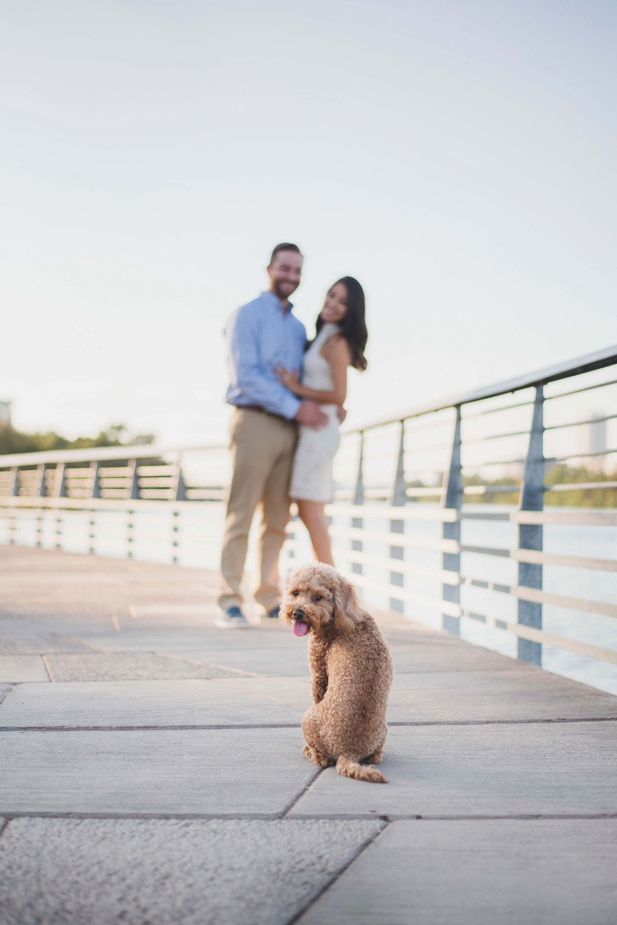 Austin Wedding Photographer ATX Engagement Session at Townlake 1