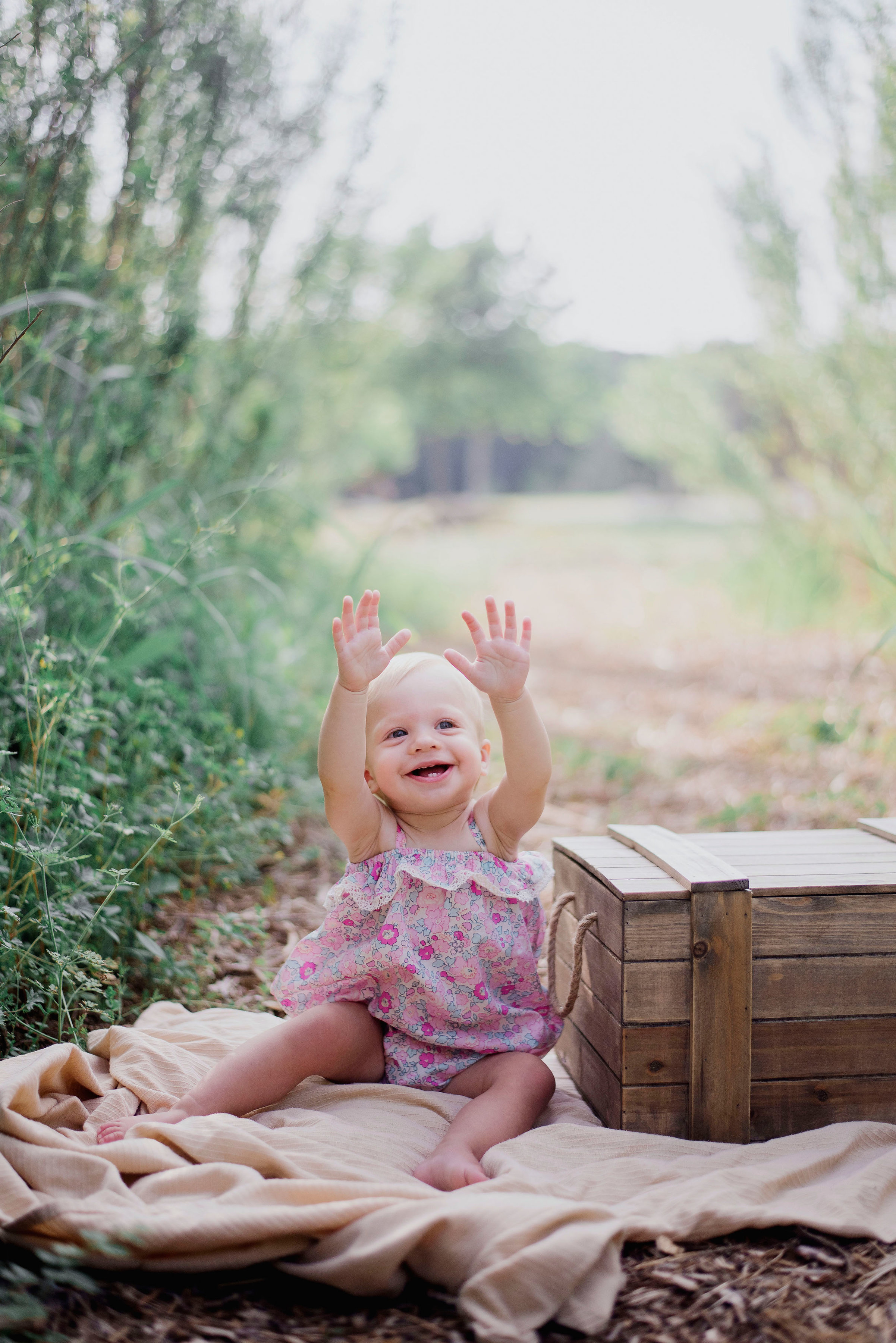 Austin Portrait Photographer First Birthday Session Texas Wildflowers Bluebonnets002.jpg