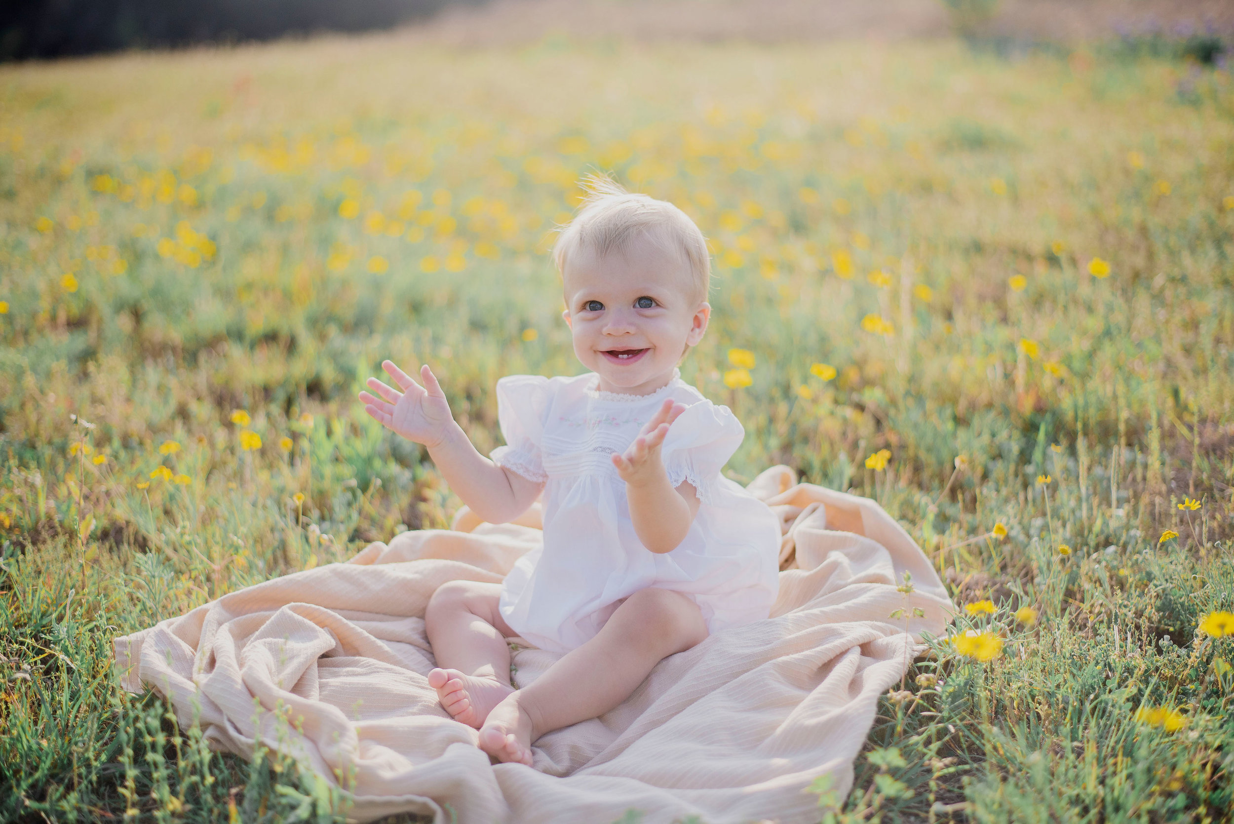 Austin Portrait Photographer First Birthday Session Texas Wildflowers Bluebonnets035.jpg