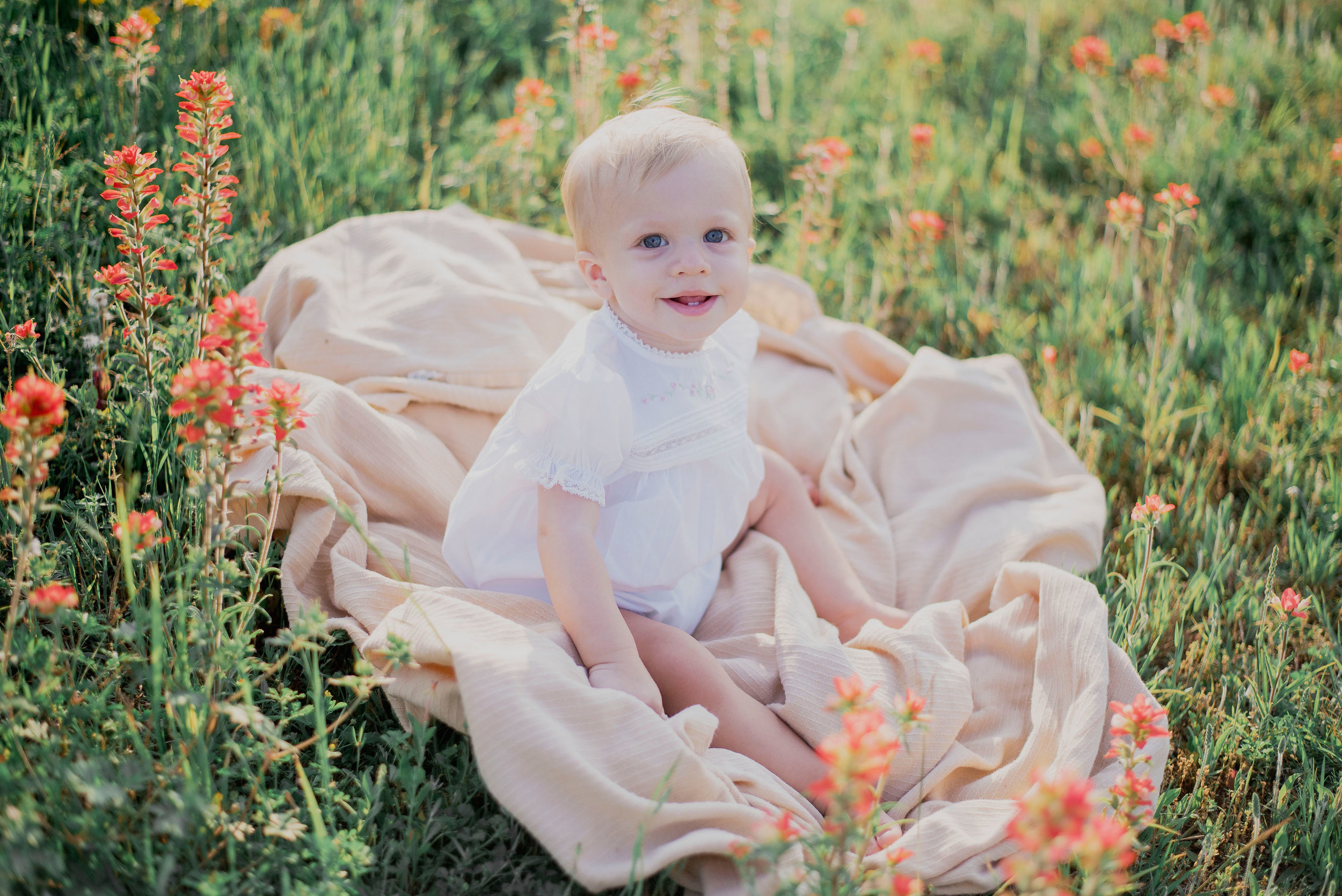 Austin Portrait Photographer First Birthday Session Texas Wildflowers Bluebonnets048.jpg
