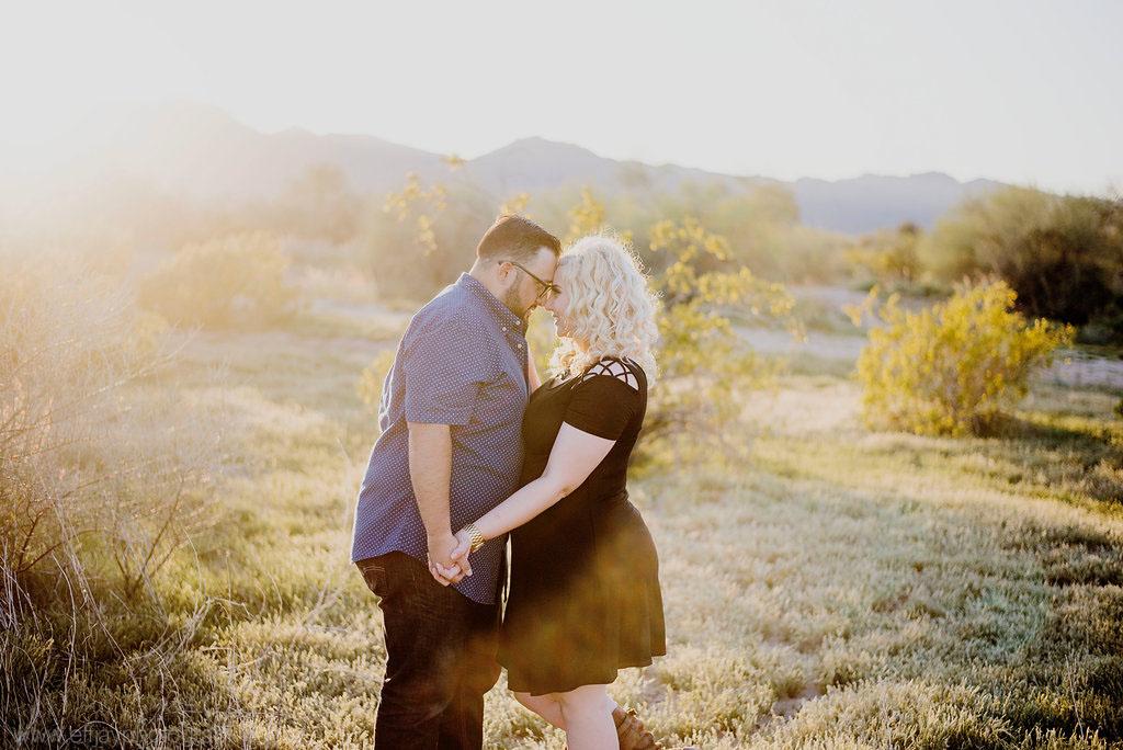 Austin Wedding Photographer Destination Arizona Desert Engagement Session010.jpg