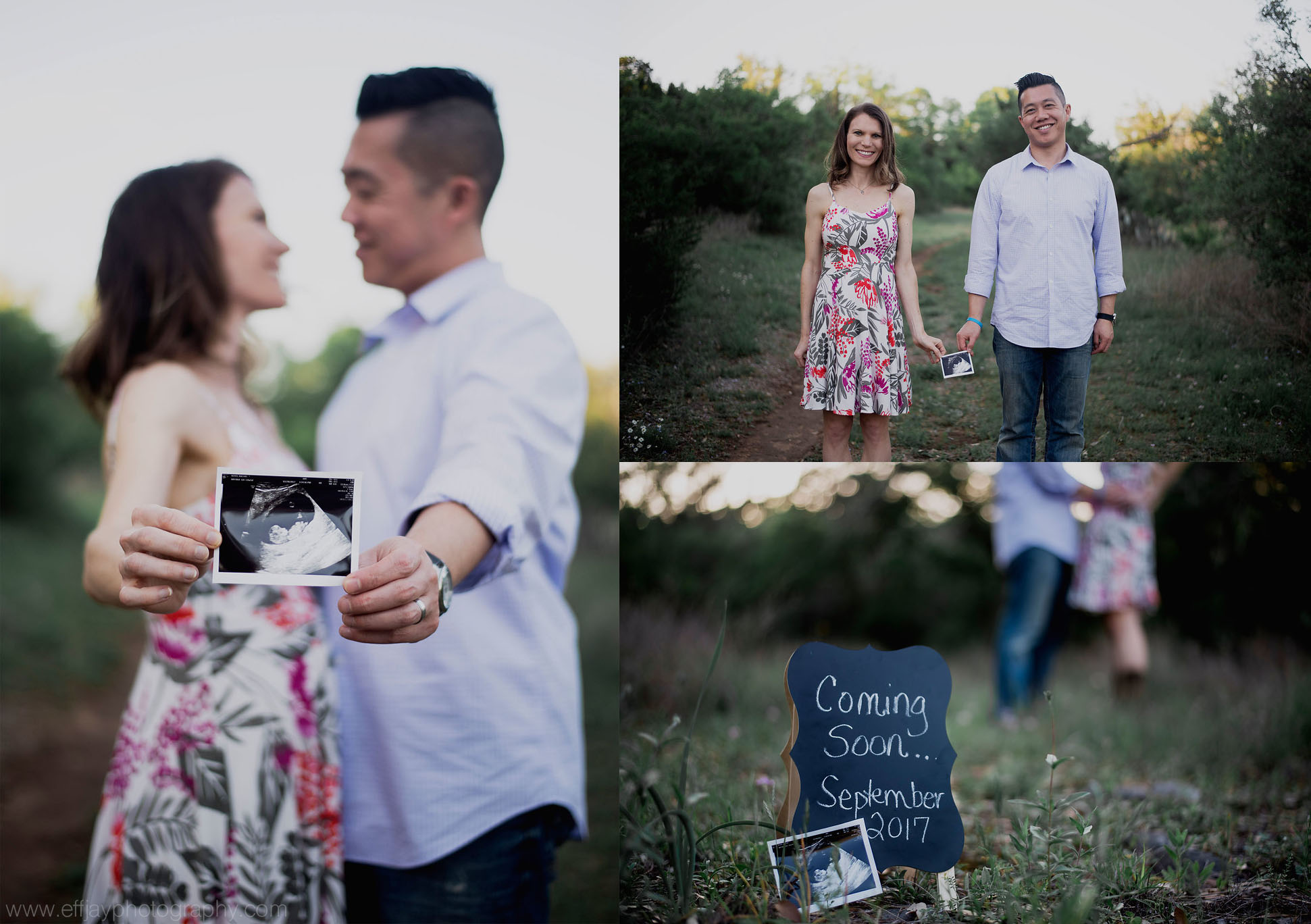 Austin Photographer pregnancy announcement session at pace bend park 002.jpg