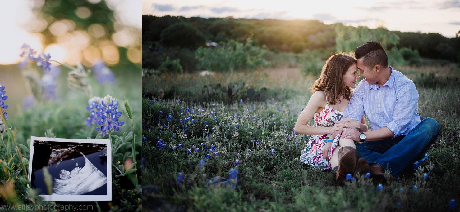 Austin Photographer pregnancy announcement session at pace bend park 004.jpg