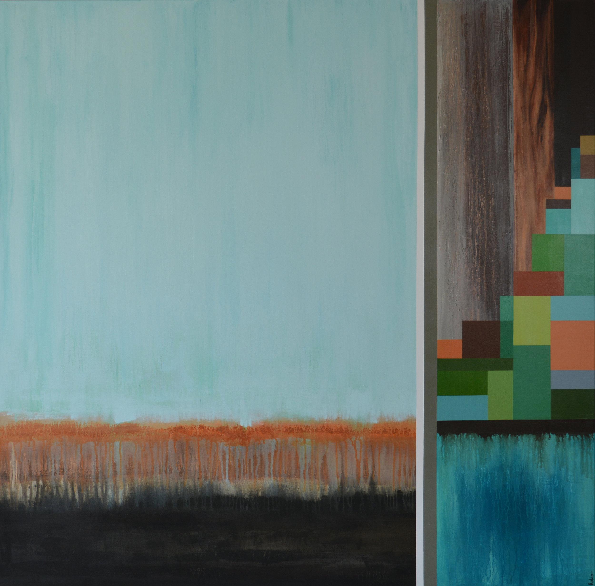 "48x48""  Acrylic on canvas  Original $800.00"