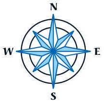 Compass rose [Rising Tide Women's Whole Life Wellness]