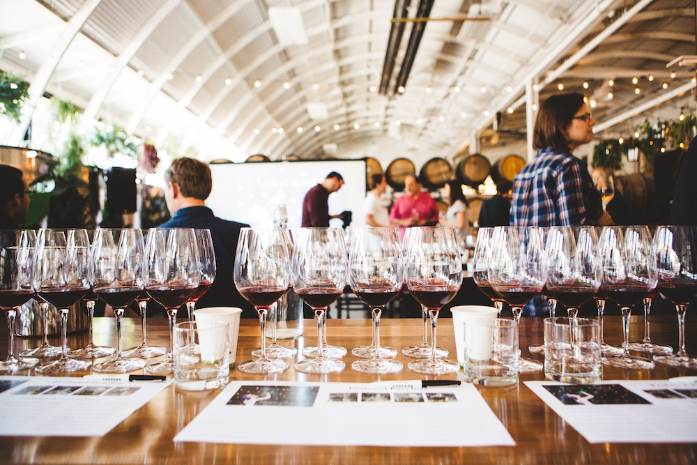 Gamay Master panel // Coopers Hall