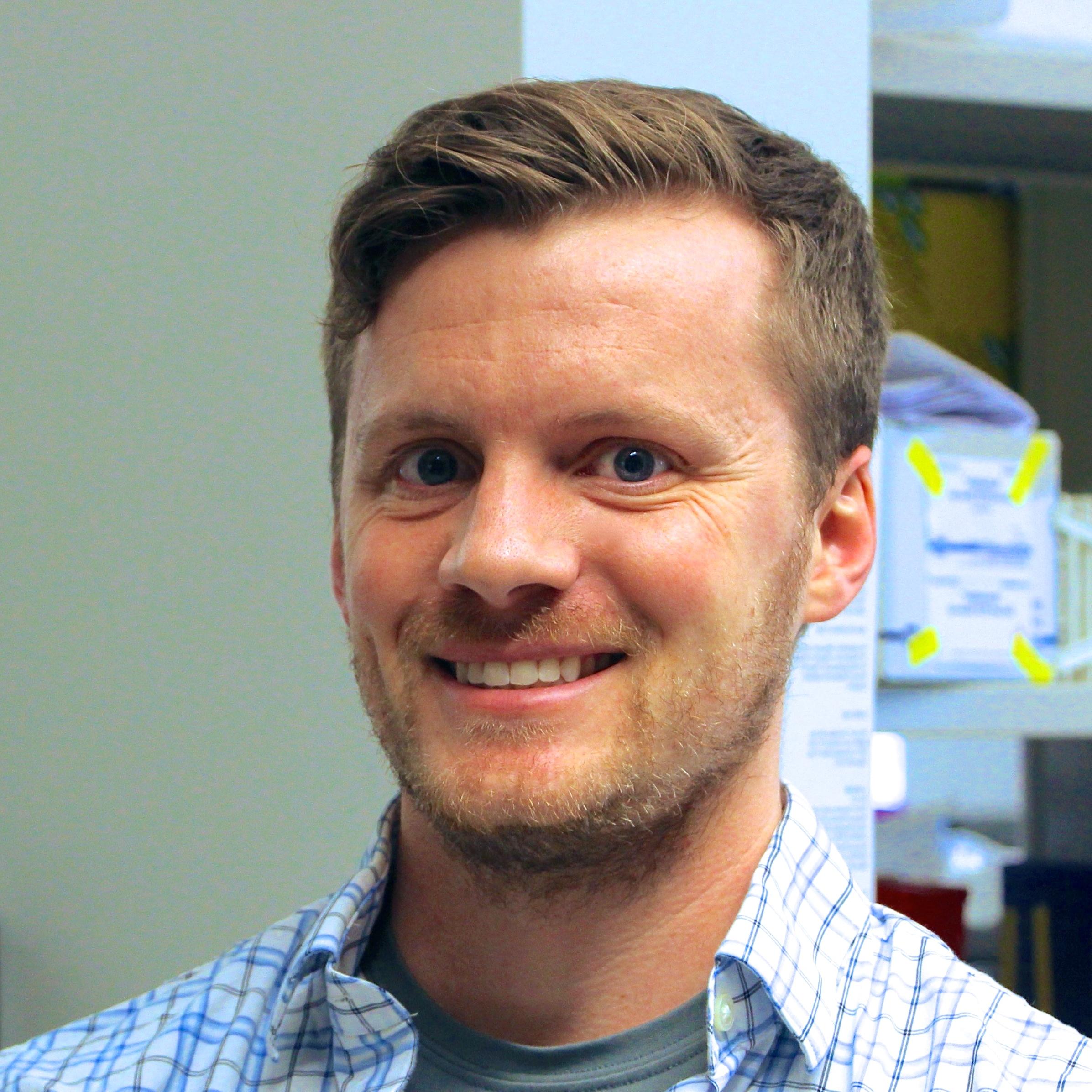 Kyle Metz, PhD  Lab Manager   Education  :  Iowa State University (BS, BA), Johns Hopkins University (PhD)  Hometown  :  Atlantic, IA