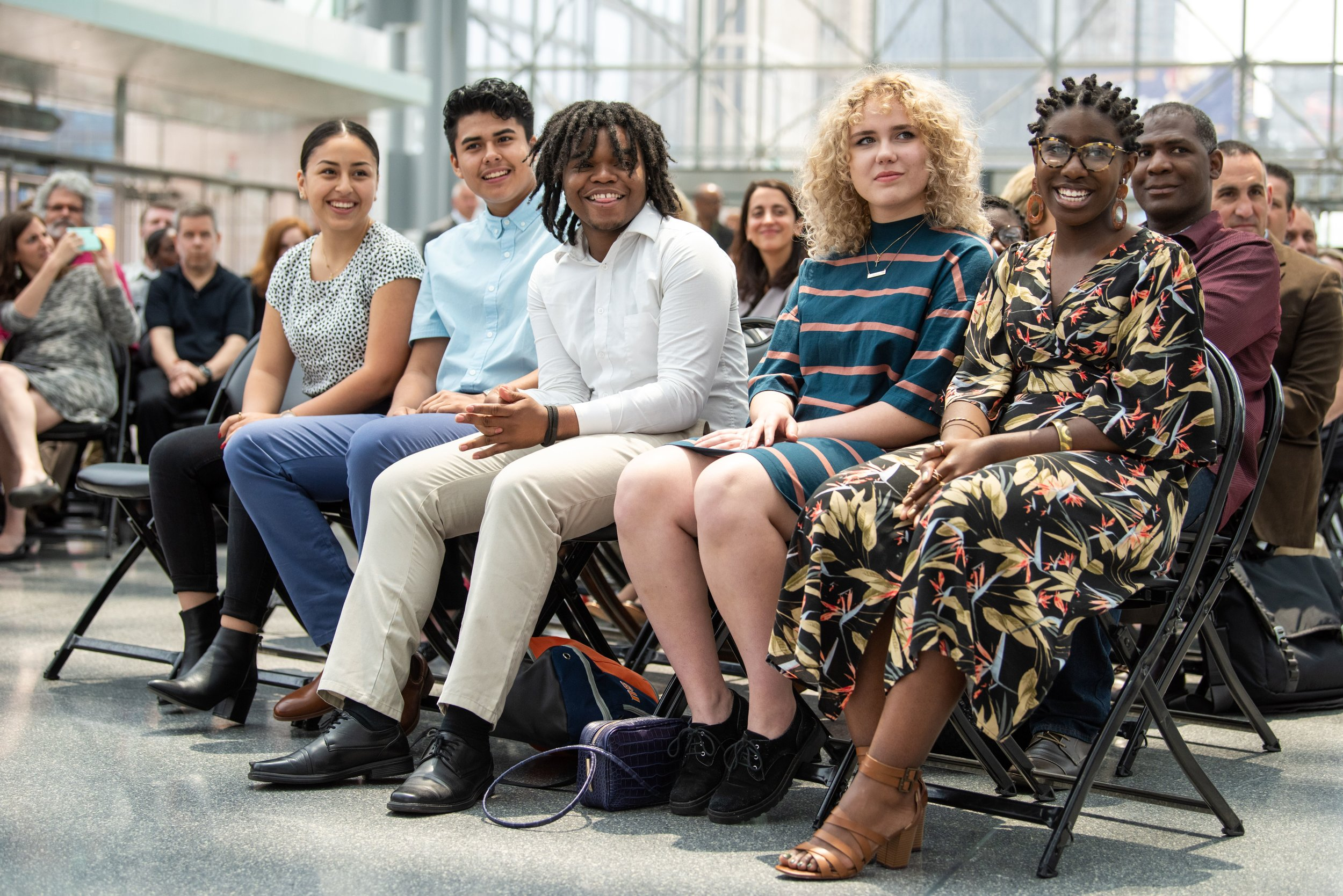 Five college-bound students will benefit from the Javits Junior Scholarship Program