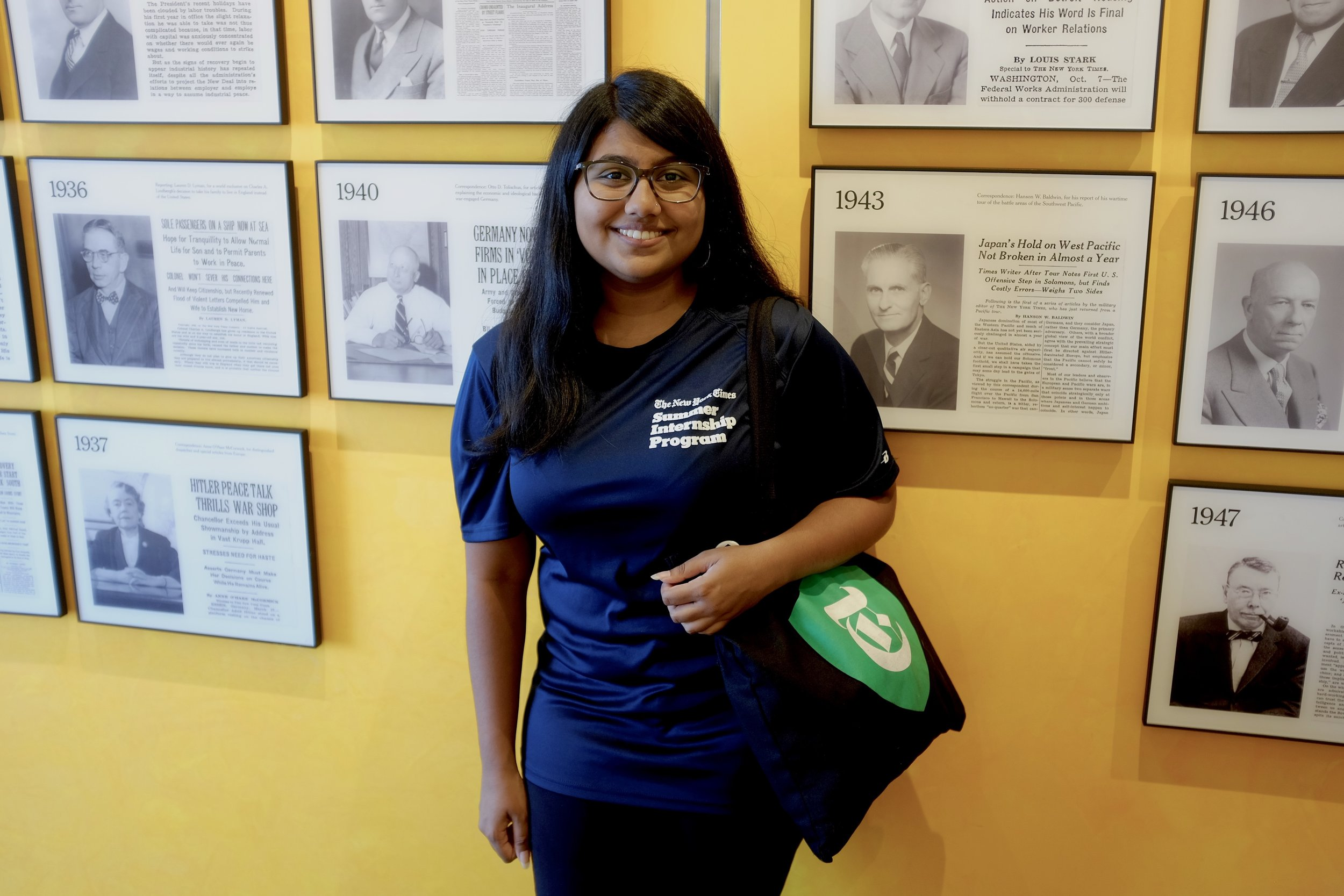 Yulini Persaud is now an Information Security Intern at the New York Times